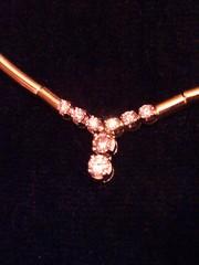 Продам колье золотое с бриллиантами Италия 750 пр